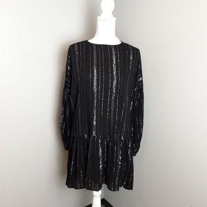 Zara | Drop waist tunic dress